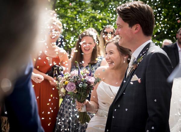 Momentaufnahme: Braut & Bräutigam