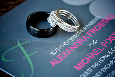 Alexandra and Michael Foster Wedding Proofs