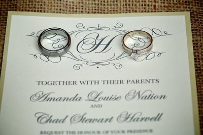 Amanda and Chad Harvell Wedding Proofs