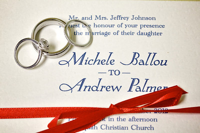 Michele and Andrew Palmer Wedding Proofs