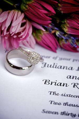 Juliana and Brian Rockwell Wedding Proofs