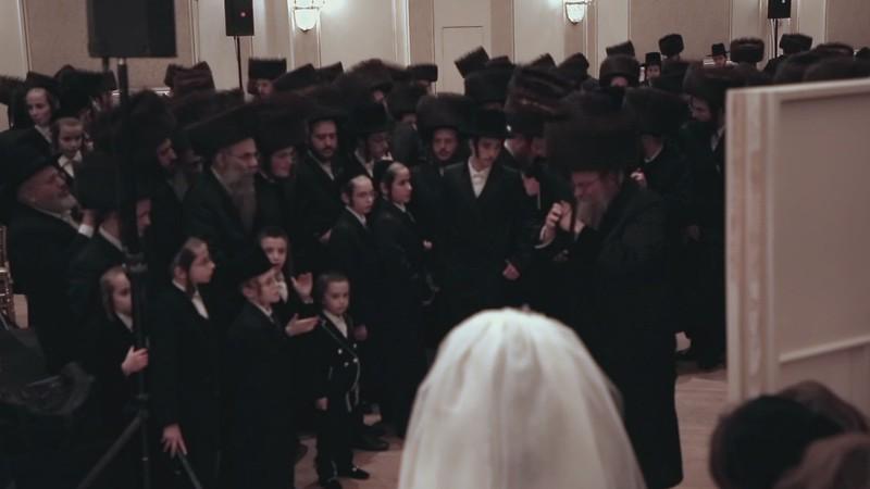Hassidic wedding Mitzva dance