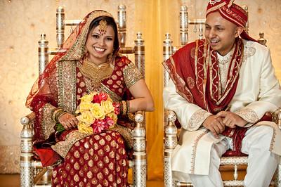 Faisal and Bushra Wedding Day