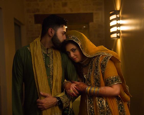 Faiza & Hashir - Mehndi