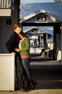 Engagement photography at Keeneland with Brittany & Matt, 10.23.2012.