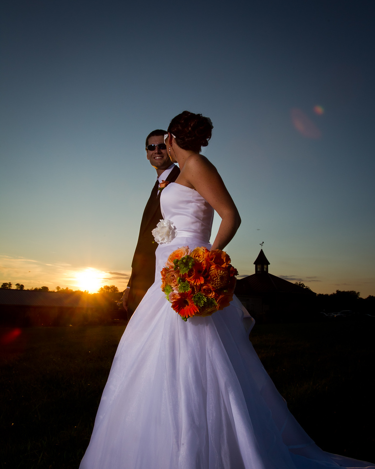 Camille & TJ's wedding day at Wildside Winery 9.17.2011