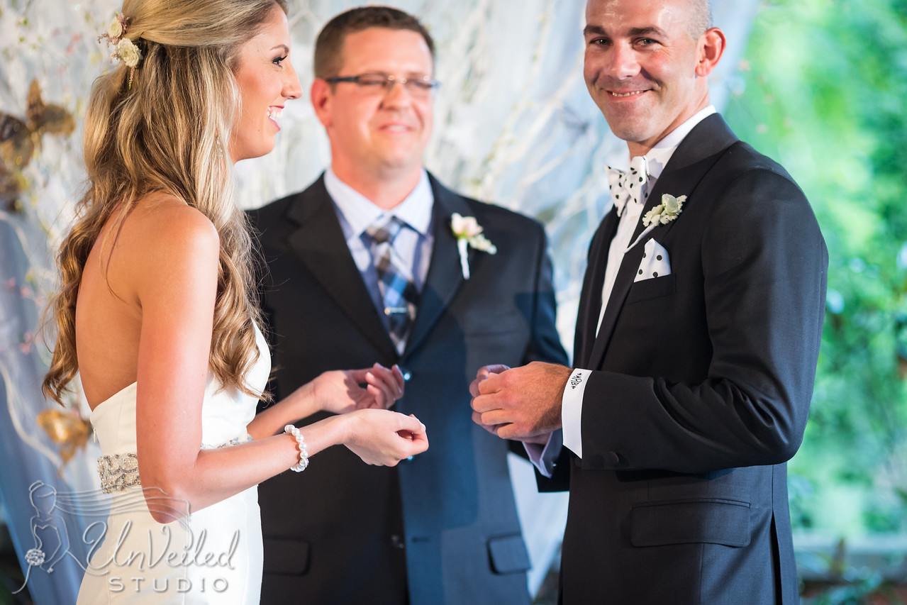 Hannah & Brandon's wedding day at the Apiary 6.27.15.