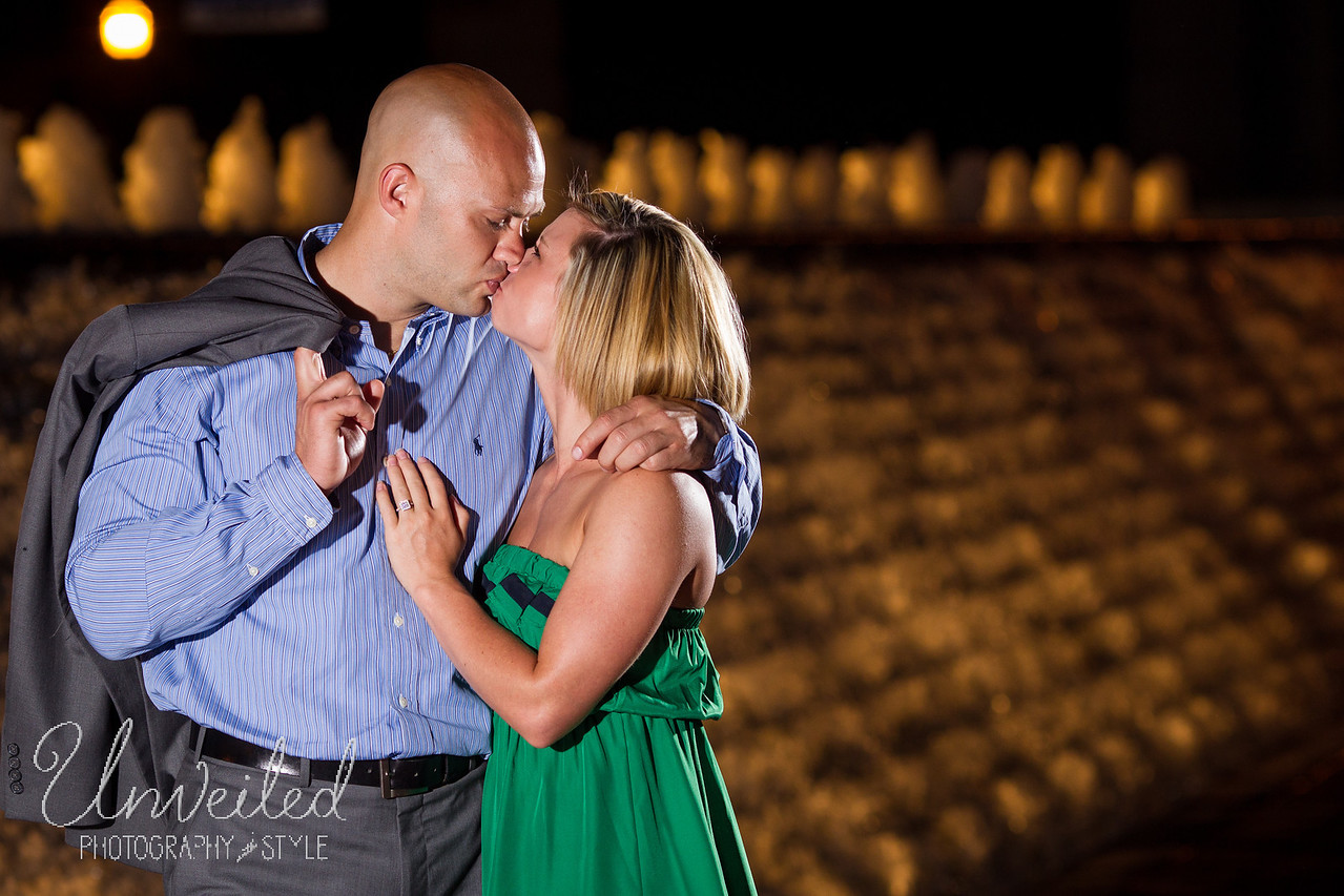 Heather & Tommy in downtown Lexington 5.28.2012