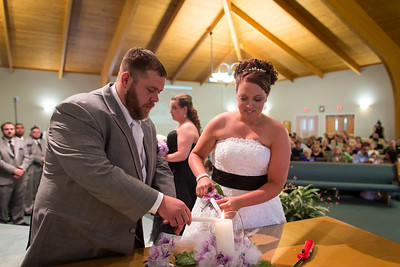 Keara & Erik's wedding day at the Jessamine Christian Church, Nicholasville, Ky. 5.24.14.