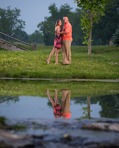Mallory & Allen's engagement at the KY Horse Park 5.28.14.