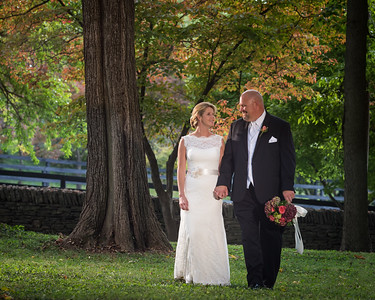 Melissa & Mark's wedding day in Woodford County, at Pisgah Church and at the Hunt Morgan House 9.28.13.