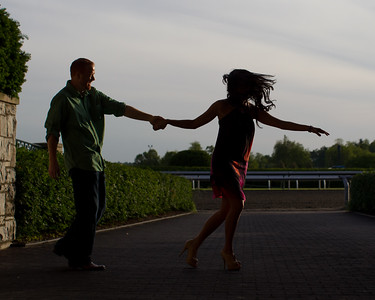 Rana & Josh at Keeneland 5.11.2012