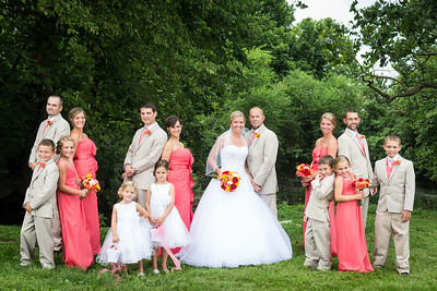 Samantha and Bryan's wedding at Grace Christian and reception at the Kentucky Horse Park 8.03.13.