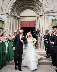 Sarah & Michael's wedding ceremony at St. Peter's Church 5.25.13.