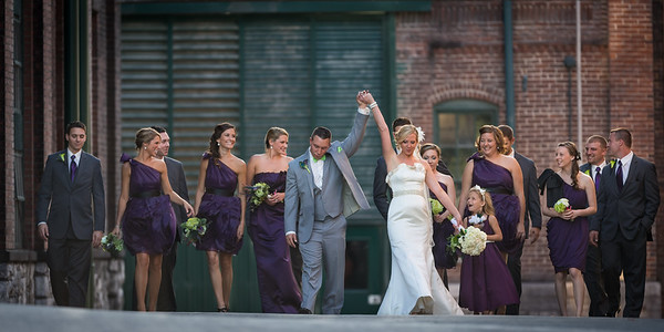 Stormie & Kurt's wedding day at Buffalo Trace Distillery in Frankfort 9.13.13.
