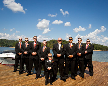 Tasia & Kyle Wedding Day at Norris Lake Tennesee 9.09.2011