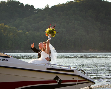 Tasia & Kyle Wedding Day at Norris Lake Tennesee 9.10.2011
