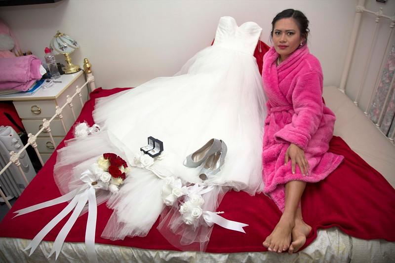 Wedding of Felix Machiridza and Marecris Salinas Vista (Mimi)