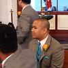 002 - Groomsmen Waiting in Church