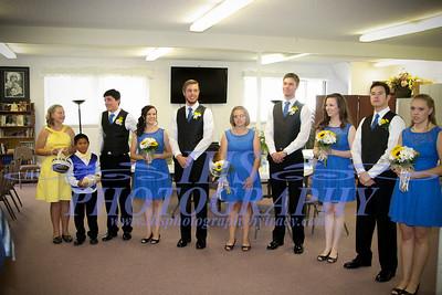 Fisher Wedding - Receiving line
