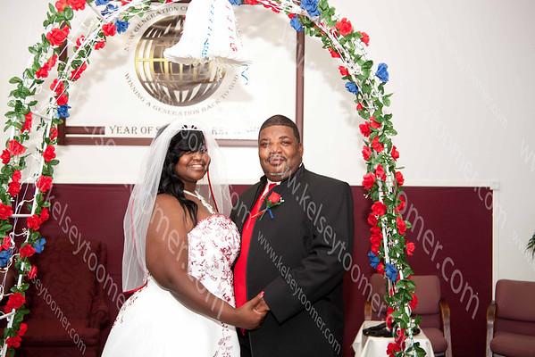 Flozell & Kimberly Wedding