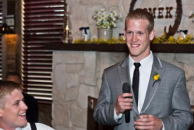 Wedding of Frances Wittenburg and Kyle Tomek at St. Mary's Catholic Church, Victoria, TX and Raisin L Ranch, Raisin, TX  April 28, 2012