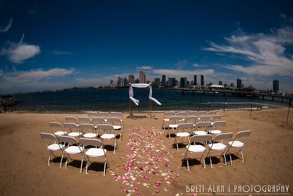 Coronado Wedding Photography.