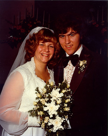 Fred & Chris Antrobus Wedding - October 27, 1979