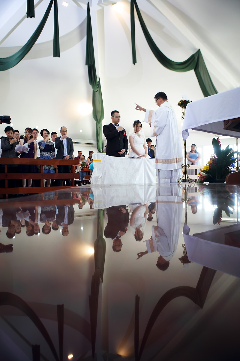 brunei church wedding
