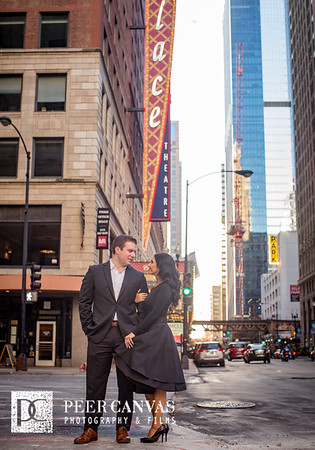 Gabriella + Tom | Downtown Chicago Engagement