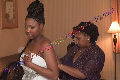 Gabrielle & Jahmal Wedding 07 Jan 2012