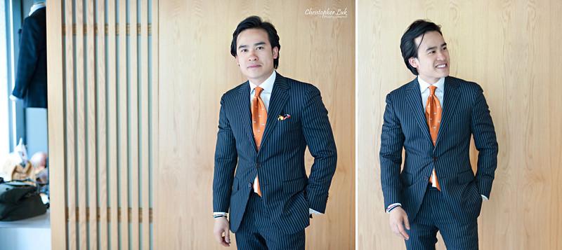 Christopher Luk Wedding 2011 - Garrison Bespoke - Toronto Custom Suit Shirt Tuxedo Sportcoat Overcoat Shoes Tailors - Composite 004 CLP S - Michael Nguyen