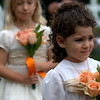 Cali does an amazing job as the youngest flower girl