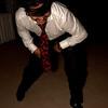 Steve going in for the garter belt