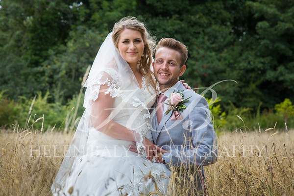 Georgia & Scott, St.Mary's Whitewell & Iscoyd Park, August 2018