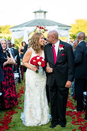 Gerald and Laurietta Davis Wedding