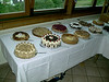 Dessert Table at the Reception