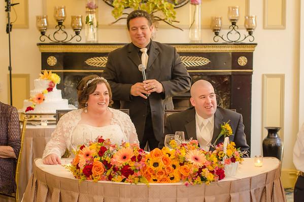 Gina & Mike's Wedding Reception