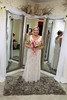 Ginger and Sammy's Cocoa Beach Wedding at Surfside Wedding Chapel's beach access @ Slater Way