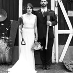Girdwood Wedding: Katelyn & Brad at Crow Creek Mine by Chris Beck