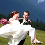 Girdwood Wedding: Christina & Andrew Around Girdwood by Joe Connolly