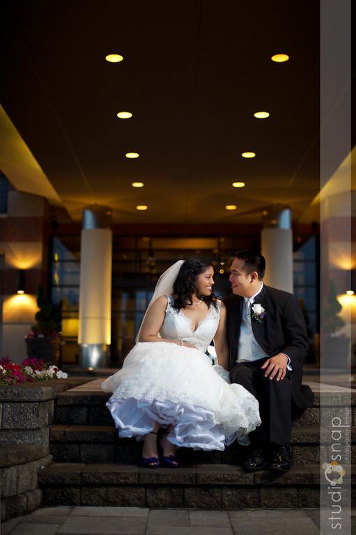 gladys + michael | wedding | hotel baronette, novi
