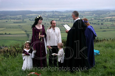 Midsummer Morning Handfasting on Glastonbury Tor