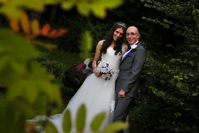 Ashton and Chris's wedding photography Gomersal Park Hotel