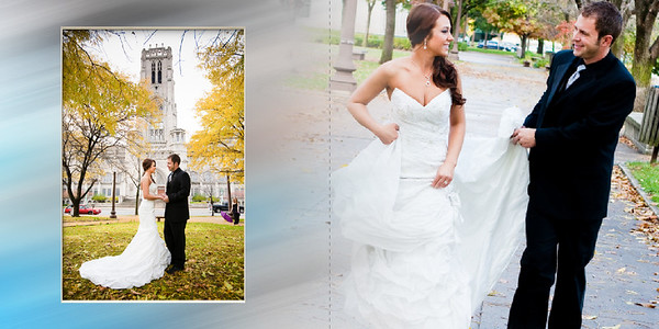 Graphi Studio Wedding Album Layout Sample 1