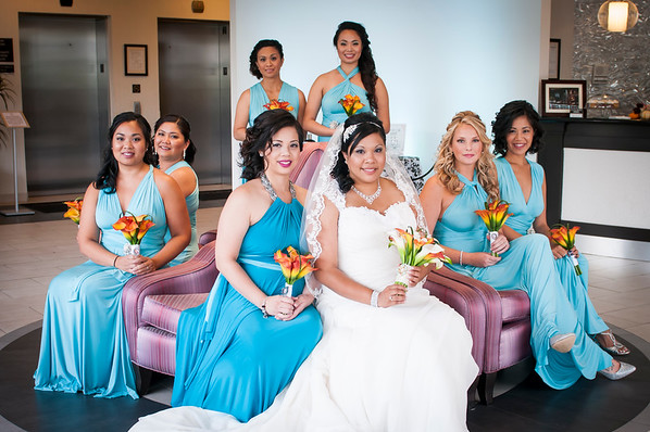 the bridal party_GJ