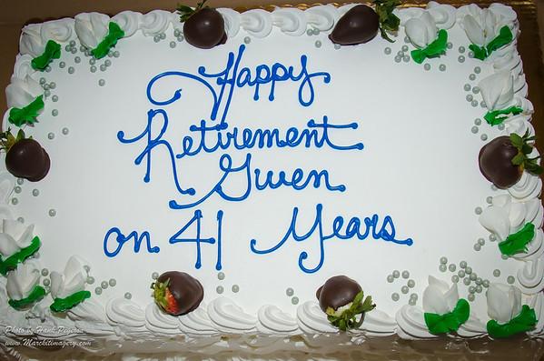 Gwendolyn Flanders' Retirement Party.