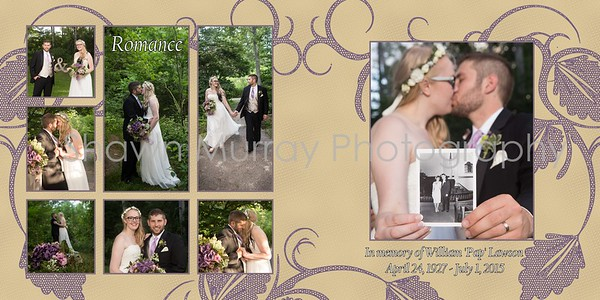 Hannah and Greg Wedding Album- rough draft-with changes 4-22-17 017 (Sides 30-31)