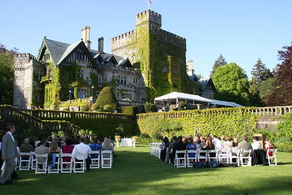 Hatley Castle Wedding ~ Victoria BC