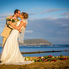 This wedding was shot on Waialae Beach Oahu January 2014.  It was a sunset ceremony on the beach with a musician playing in the back ground.  It was very pretty!